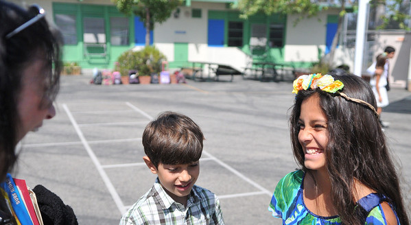 Graduation from Roscomare Elementary