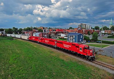 Canadian Pacific  6251 West,  Trois-Rivières Quebec July 30 2013