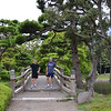Hamarikyu Gardens, Toyko, Japan.