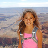 Alana soaks in the beauty of north rim Grand Canyon.