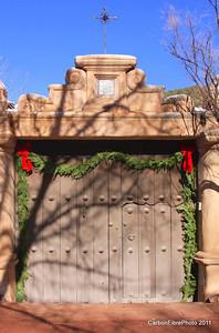 Best Holiday Door 2011, Sante Fe, AZ