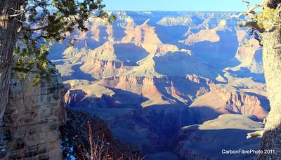 Sunset, Pike's Rim, Grand Canyon, AZ