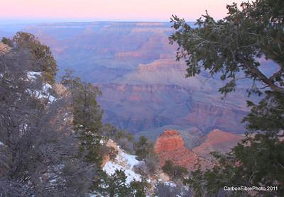 Dawn, Yaki Point, Grand Canyon, AZ