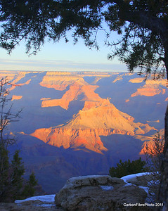Sunrise, Pike's Rim, Grand Canyon, AZ