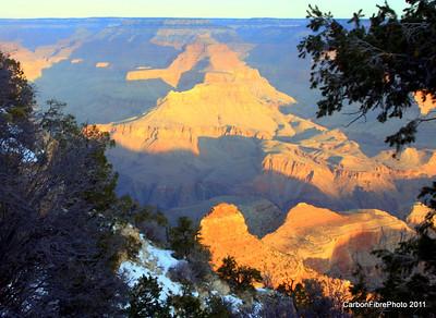 Sunrise, Yaki Point, Grand Canyon, AZ