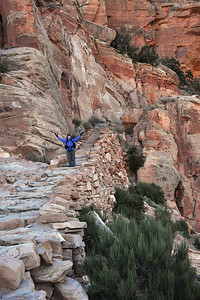 Grand Staircase -  The Kaibab Trail is a real work of art.