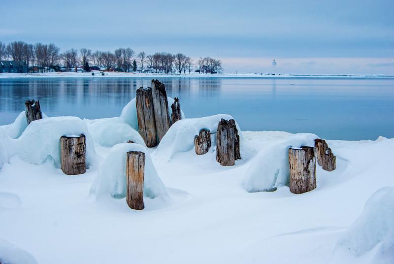 Winter in Grand Marais