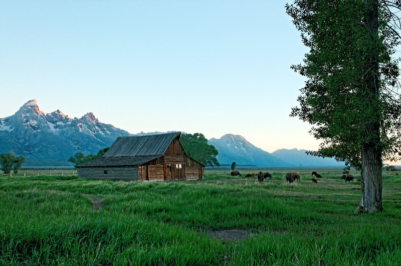 Mormon Row Barn II