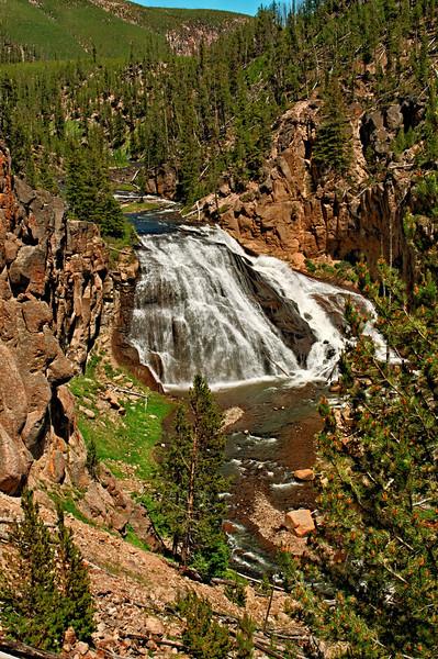 Gibbon Falls; Yellowstone