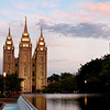 Mormon Temple at Dawn