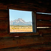 Cunningham Cabin Window View