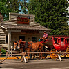 Stage Coach in Jackson, Wyoming