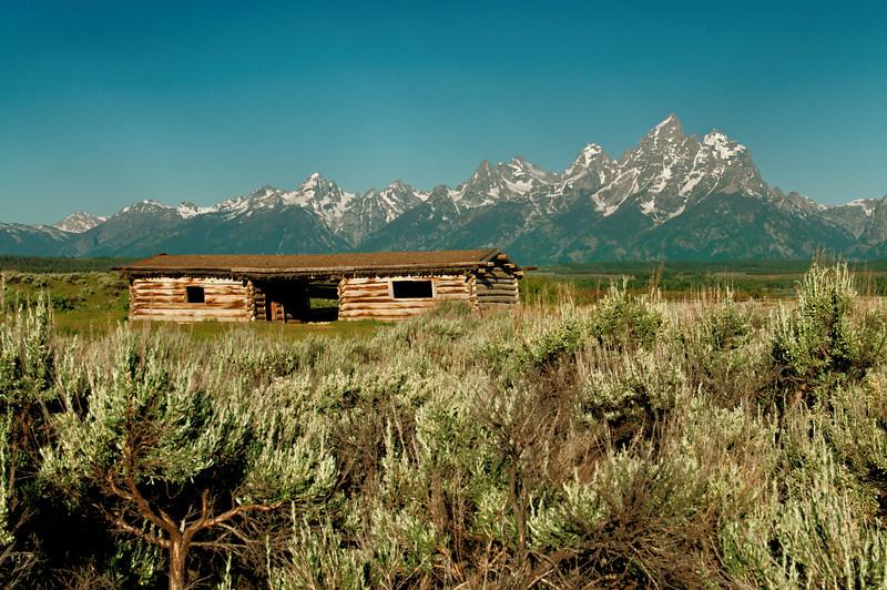 Cunningham Cabin - Tetons