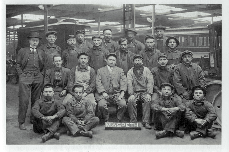 The Maspeth Trolley Barn was located at Borden Avenue and Brown Place.
