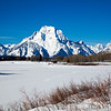 Mount Moran from Oxbow Bend  # 8240