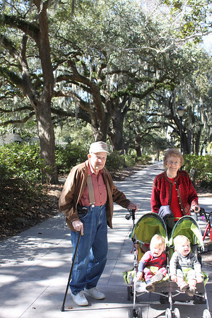 Grandmother and Dandy visit Savannah