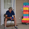 The traditional Cajun pinata.  :)  Operated by Koy's dad Keith.