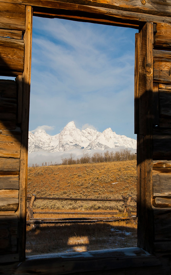 Gros Ventre Plain - Grand Teton National Park
