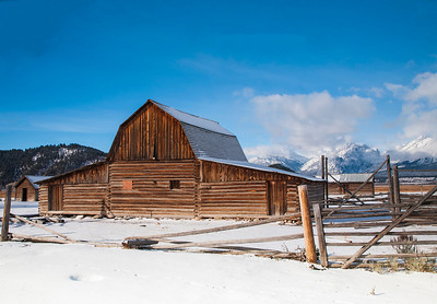 Barn on Mormon Row Antelope Flats Grand Teton National Park