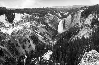 Lower Falls - Grand Canyon of Yellowstone National Park