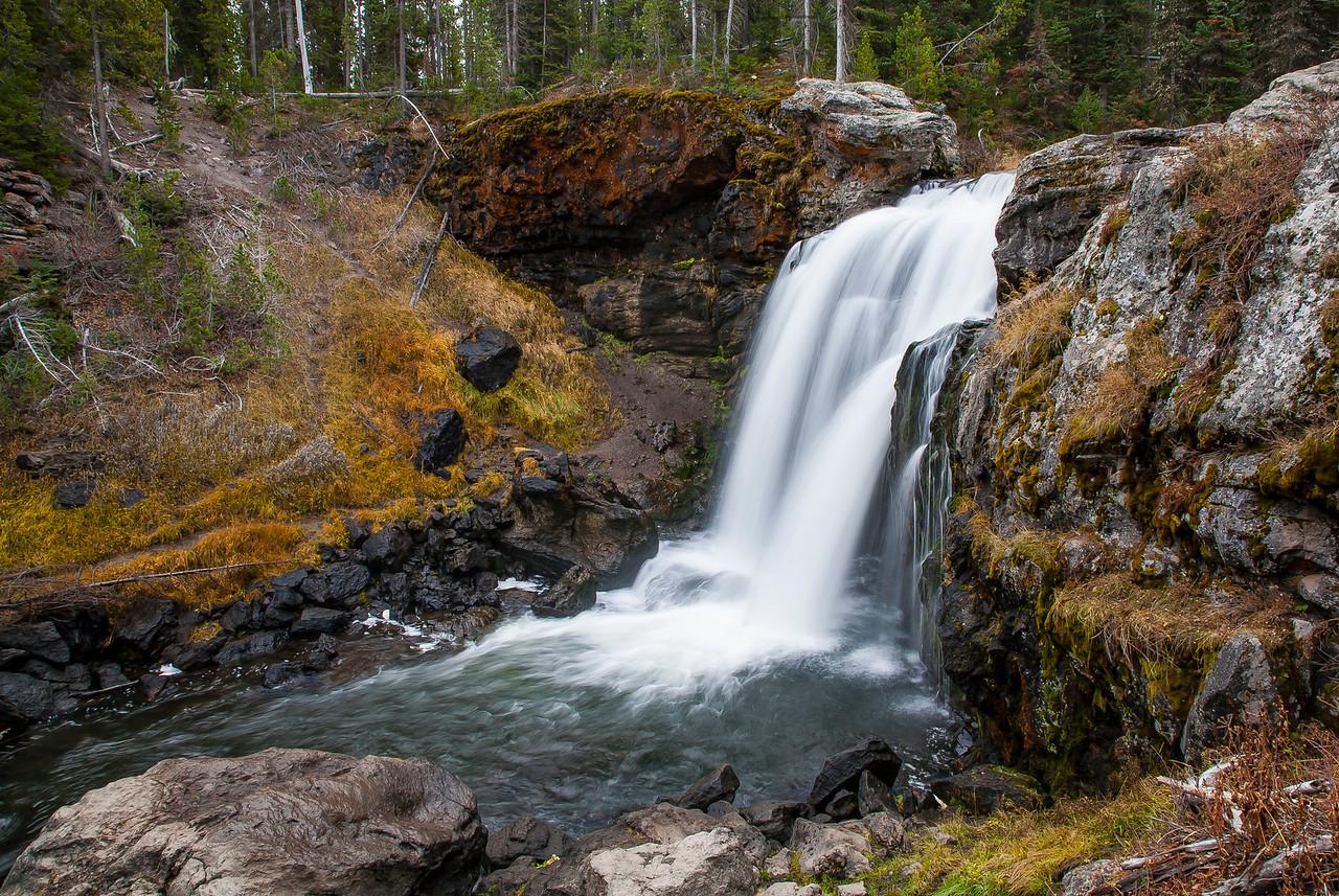 Waterfall Yellowstone National Park