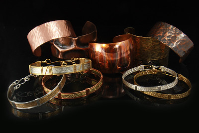 Wallace 4 Lauri & Tommy Wallace - Metalwork Bracelets