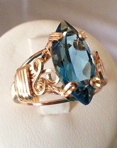 Fron 2  #1 LONDON BLUE TOPAZ RING (2)