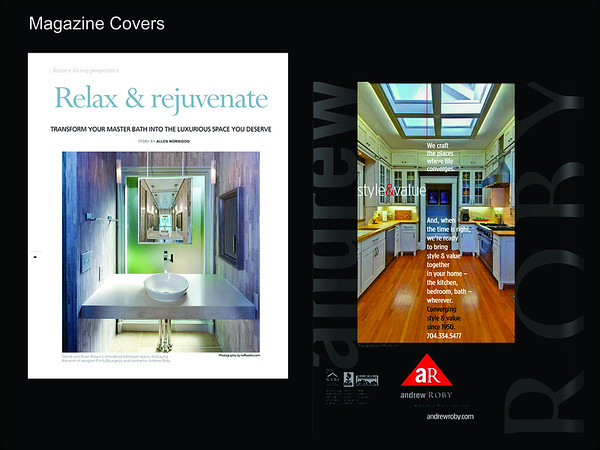 Neffworks Architectural imagery gracing magazine covers