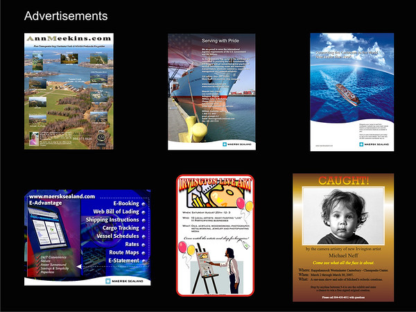 Neffworks has years of experience in producing advertisements for local and national audiences.  Click image to enlarge.