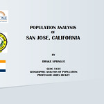 Population Analysis: City of San Jose, California 1990 to 2020