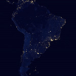 South_America_night_NASA