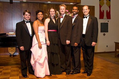 (left to right) Jacob Gibson, Tessika McClendon, Rachel Alexander, Adam Stringer, Ronald Hicks, and David O'Steen.