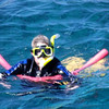 Dearne cruising around the reef. It was a bit of a long swim at times.