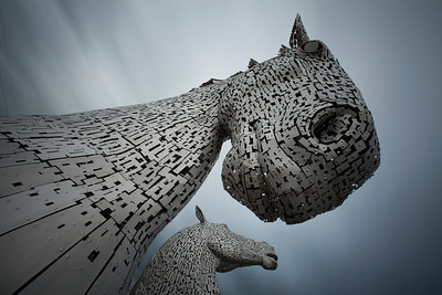 Scotland 0100 The Kelpies Falkirk