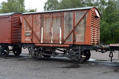 B852838 12t Vent Shocvan at Quorn sidings  25/08/14.