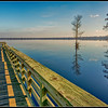 Lake Drummond boat dock