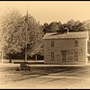 """House, circa 1900, on """"Confederate Drive,"""" situated just outside the Swamp."""