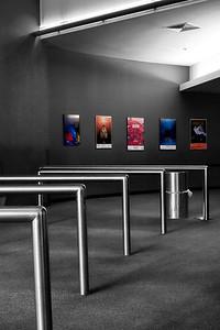 omnimax theatre area