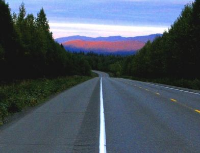 The Beginning of the 1300-Mile Alaska Highway.  Here's an article on it.