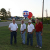 Hot air balloon veteran and Propane Exceptional Energy Balloon Pilot, Phil Bryant, Crew Chief, Albert Vowell joined by Jerry Sullivan and Tom Redd of Martin LP Gas after a breathtaking flight over Longview.
