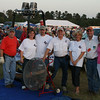 The folks from Martin Gas of Kilgore come help out as hot air balloon crew at 2009 Great Texas Balloon Race evening balloon glow.