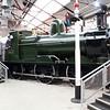 0-6-0 2516 inside Swindon Museum   15/03/14