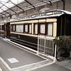 GWR Royal Saloon 233 inside Swindon Museum   15/03/14