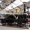 Broad Guage 2-2-2 'North Star' inside Swindon Museum   15/03/14