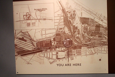 Map of the former Swindon Works and Yards!! Absolutely unbelievable at the size of the area.