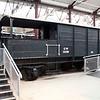20t Brake Van Toad GW 35290 inside Swindon Museum   15/03/14