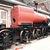 2-8-0T 4248 stripped back for display purposes in Swindon Museum  15/03/14