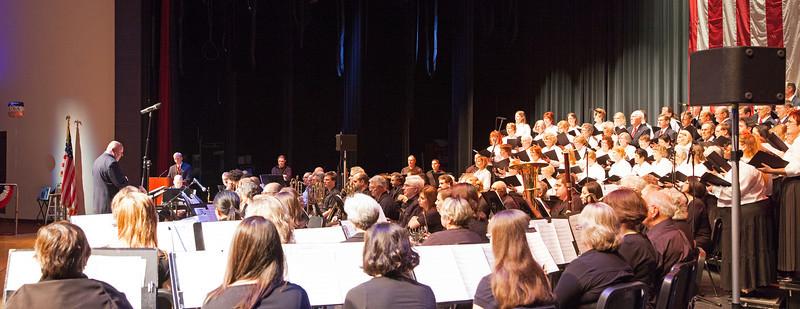 Greece Choral Society; Veterans Day 11/12.  Backstage