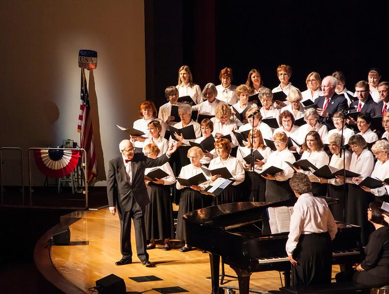 Greece Choral Society; Veterans Day 11/12