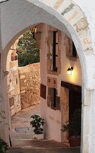 Old town, Naxos, Greece